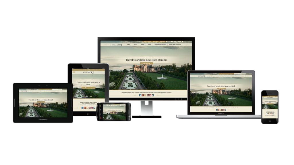 Biltmore website responsive